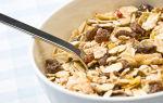 Полезный и вкусный завтрак: мюсли